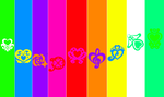 Precure all series logo symbols wallpaper by andrixvila