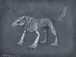 Creature by WolfHowl10