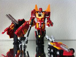 Rodimus Prime the Protector by 0PT1C5