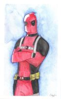 Commission: Deadpool by The-Happy-Apple
