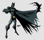 Iron Batman by TetraGyom