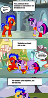 JLE: Gone In a Flash by RogueHeart101