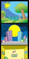 Animation backgrounds by themico