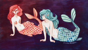 Mermaids by heikala