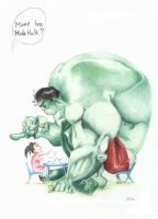 Hulk by nunofrias