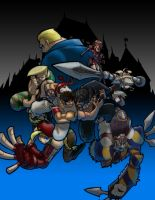 Street Fighter versus SoulCalibur by Franckjp