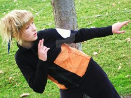 Naruto Uzumaki Stealth Cosplay by broken-with-roses