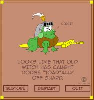 Toadally Dodge by Cartoon-Eric