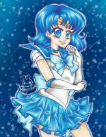 Sailor Mercury by aruachan