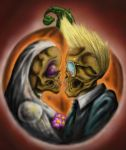 happy hallowedding by beefstewy