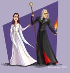 Raistlin and  Crysania 01 by kissyushka