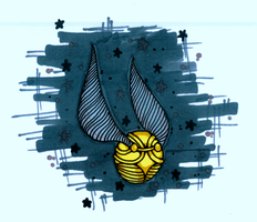 The Golden Snitch by vanillablizzard