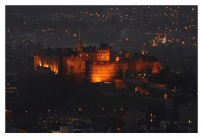 Edinburgh Castle by Night by MarkShannon