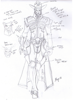 Bones Preliminary Design by skywarp-2