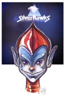 Silverhawks old sketch by Robot1979