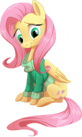 Fluttershy by Frozenspots