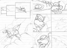 WIP SWAT Kats comic Shadow Realm by ArgentDraconis