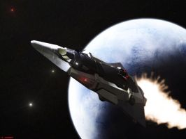 Dierah-class Long-range Explorer 1 by DrOfDemonology