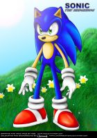 Sonic Next Gen .:Coloured:. by linkinparkathome