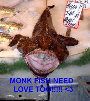 MONKFISH need love TOO by Lower-Levels