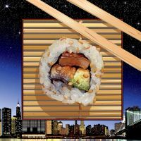 Sushi In New York by rjonesdesign