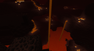 Immense Nether Lava fall by bloxxer33