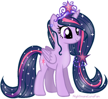 Princess Twilight Sparkle by NightmareLunaFan