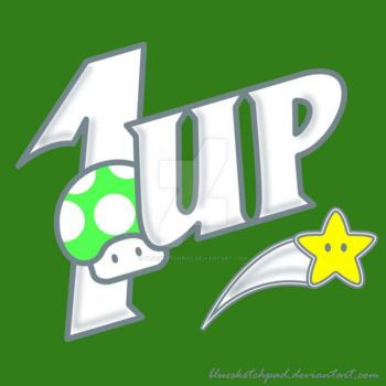 1UP by bluesketchpad