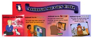 Animal Movies Quiz by Kittensoft