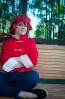 Ranma 1/2 - Cooling Off by seethroughcrew