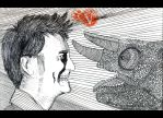 David Tennant VS Hameleon. by VeIra-girl