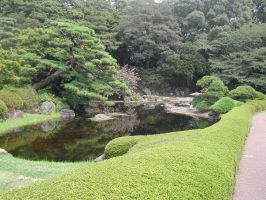 Imperial Palace garden, Tokyo by nihonmasa