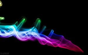 colorful Smoke by Gil-Levy