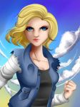 Android 18 by Tao-mell