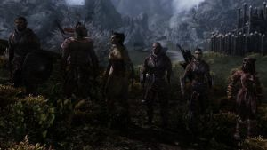 Skyrim NPC Let there be Orcs by haunted-passion