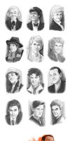 Sketchdump: Doctor Who Edition by Pretty-Angel
