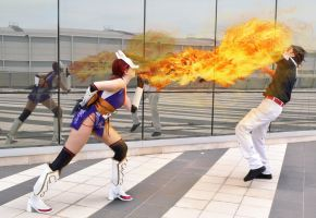 K.O - Kunimitsu and Lars Tekken Tag 2 - cosplay by Elis90