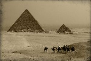 Postcard from Giza by vahu