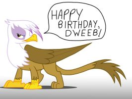 Have A Good One, Dweeb! by narfpinky