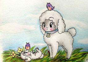 :CE: Sheep and Birds by Sutexii