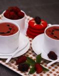 Blackberry Chocolate Mousse by theresahelmer