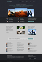 Designer company web layout by UncleCreepy97