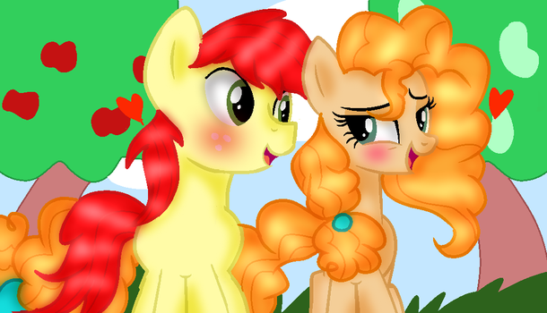 BrightPear are the Perfect Pair by DoraemonFan4Life