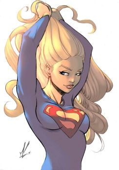 Supergirl color by logicfun