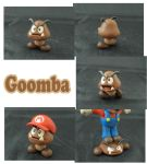 Weekly Sculpture: Goomba by ClayPita
