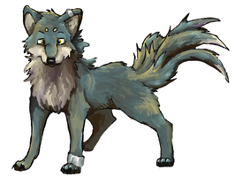 Adopt a Wolf by Self-Eff4cing