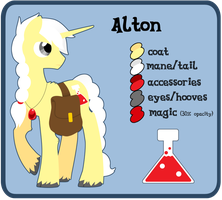 Alton pony!Reference by llimus