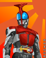KR Kabuto vector by aminkr