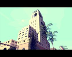 Walking in San Andreas [a police department ] by XDmoney