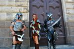 Skyrim - warriors at the door by ShinjiRHCP